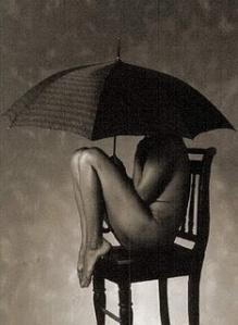 mujer de la lluvia