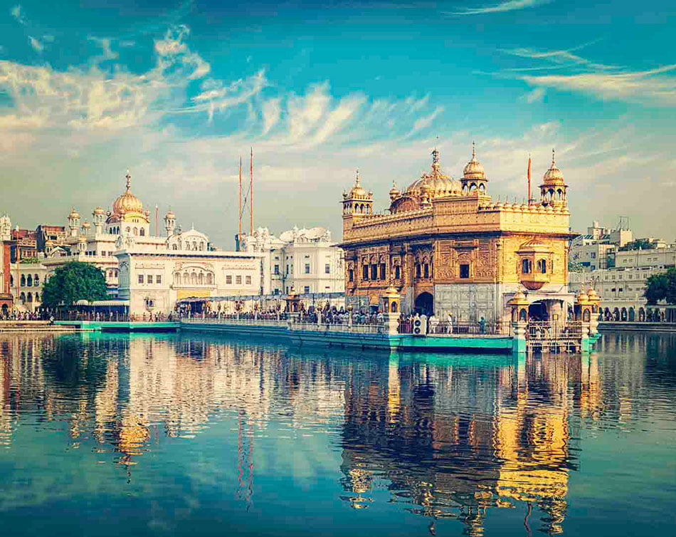 Golden Temple, en Amritsar, Punjab